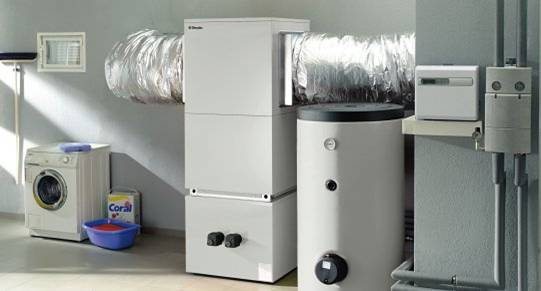 N 5 pompes chaleur sur air exterieur eau de chauffage for Pompe a chaleur sans groupe exterieur